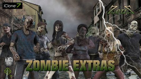 PBR Zombie Extras
