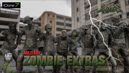 PBR Military Zombie Extras