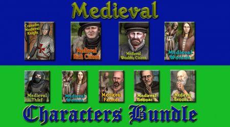 Medieval Characters Bundle
