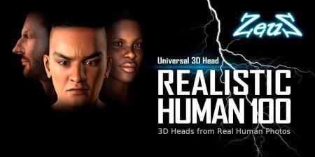 Realistic Human 100