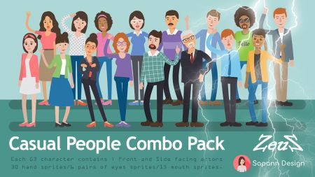 Casual People Combo Pack