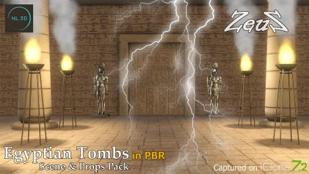 Ancient Egyptian Tombs in PBR