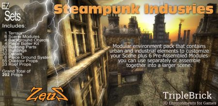 EZ Sets Steampunk Industries