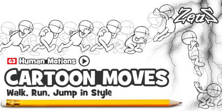 G3 Human Motions - Cartoon Moves